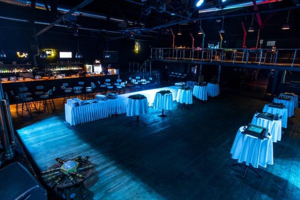 Схема зала клуба volta