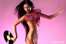 Topless DJ Milana