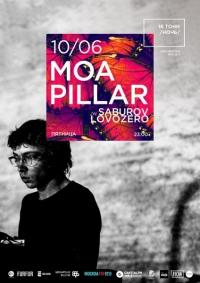 Moa Pillar (live). Специальные гости: Saburov, Lovozero.