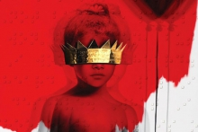Обложка нового альбома Рианны под названием «Anti»