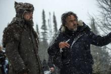Съемки фильма «Выживший» с Леонардо Ди Каприо в главной роли